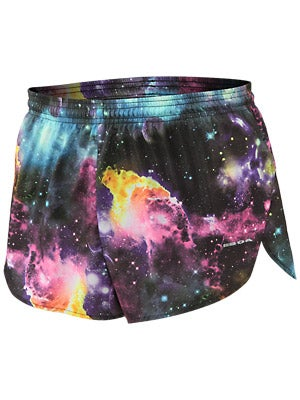 BOA 1inch Elite Split Leg Print Short Galaxy