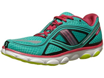 Brooks PureFlow 3 Women's Shoes Green/Raspberry/Black