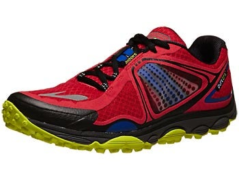 Brooks PureGrit 3 Men's Shoes Red/Electric/Lime
