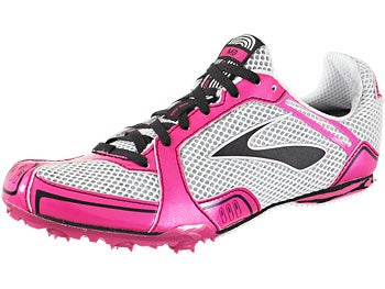 Brooks PR MD Women's Spikes Pk/Blk/Wh