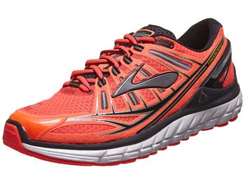 Brooks Transcend Men's Shoes Coral/Silver/Black