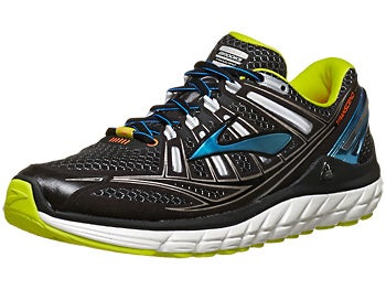 Brooks Transcend Men's Shoes Black/Bachelor/Lime