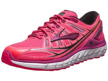 Brooks Transcend Women's Shoes Pink/Fuchsia/Black