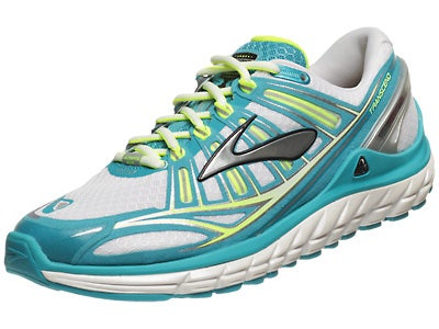 Brooks Transcend Women's Shoes White/Silver/Capri