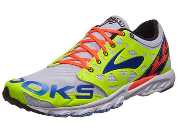 Brooks T7 Racer Unisex Shoes White/Orange/Electric