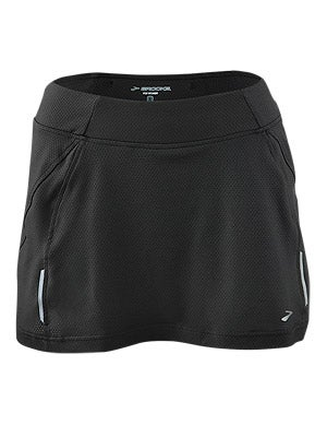 Brooks Women's PR Mesh Skort II Black