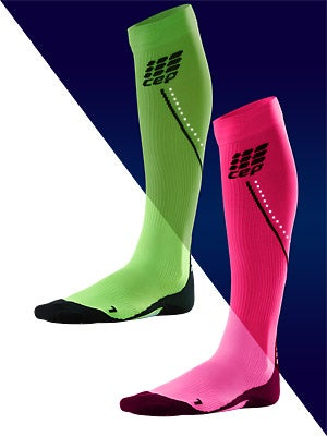 CEP Progressive+ Night Run Compression Wom Socks 2.0