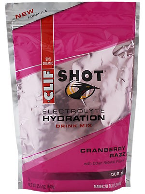 Clif Shot Electrolyte Hydration Drink Mix 40-Serv