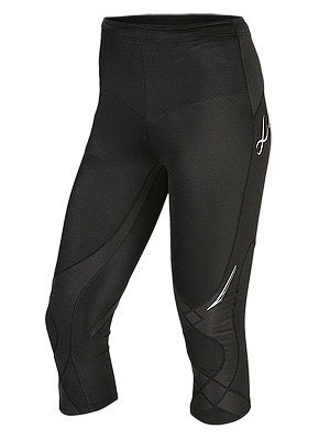 CW-X Women's 3/4 Length Stabilyx Tight Black
