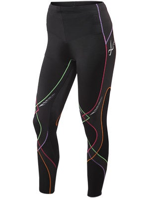 CW-X Women's Stabilyx Tight Bk/Rainbow