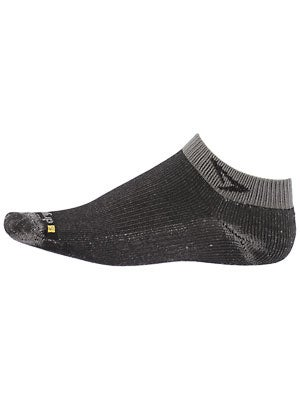Drymax Lite Trail Run Mini Crew Socks Grey/Black