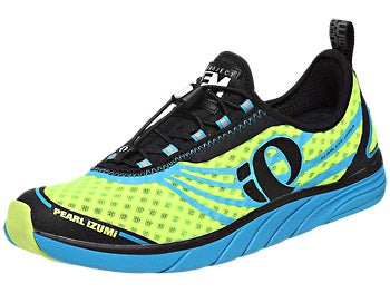 Pearl Izumi EM Tri N1 Men's Shoes Blue/Yellow