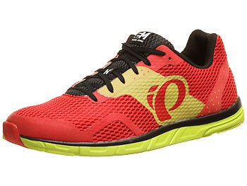 Pearl Izumi EM Road N0 Men's Shoes  Black/Fiery Red