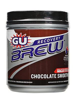 GU Brew Recovery Drink 13-Servings Chocolate Smoothie