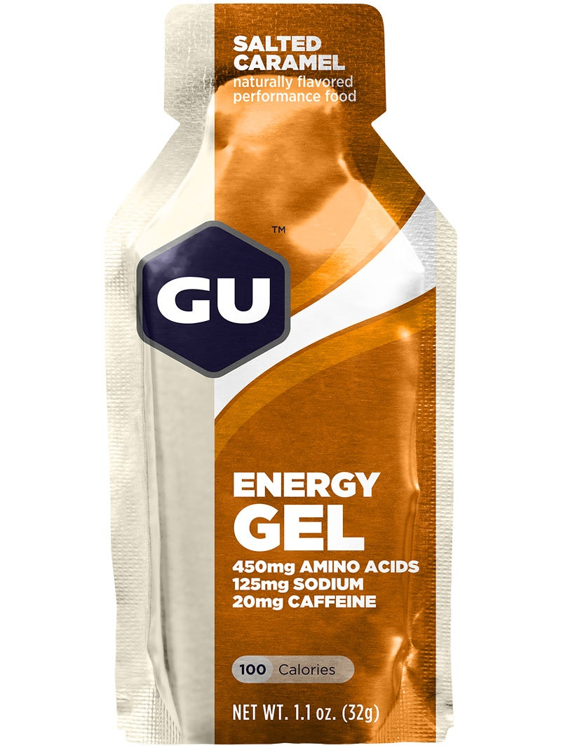 GU Energy Gel 8-Pack Salted Caramel