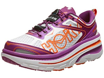 HOKA Bondi 3 Women's Shoes Clover/Black/Red