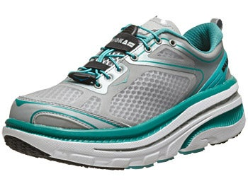 HOKA Bondi 3 Women's Shoes Baltic/Hi Rise/White