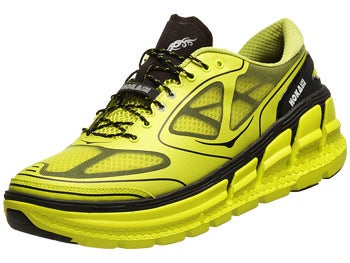 HOKA Conquest Men's Shoes Citrus/Black