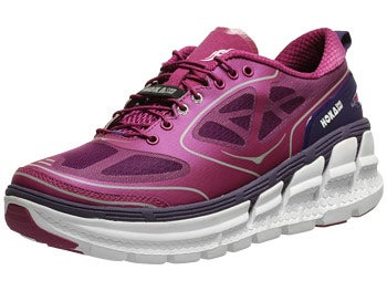 HOKA Conquest Women's Shoes Clover/Mulberry/White