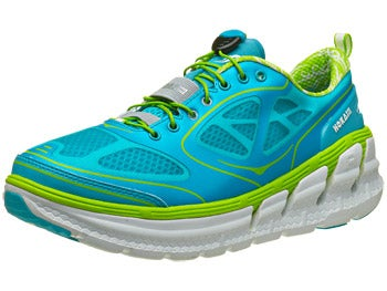 HOKA Conquest Women's Shoes Aqua/White/Acid