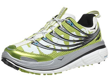 HOKA Kailua Trail Women's Shoes Lime/Silver/White