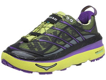 HOKA Mafate 3 Women's Shoes Lime/Anthracite/Purple