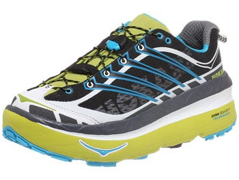 HOKA Mafate 3 Men's Shoes Lime/Anthracite/White