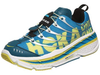 HOKA Stinson Evo Tarmac Men's Shoes Blu/Wht/Sil