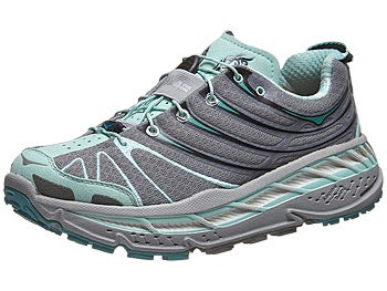 HOKA Stinson Trail Women's Shoes Blue/Grey/Grey