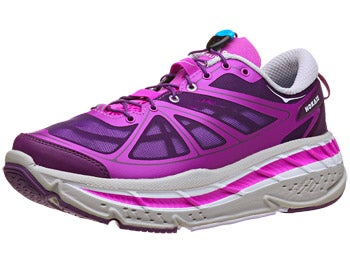 HOKA Stinson Lite Women's Shoes Fushia/Plum/Grey
