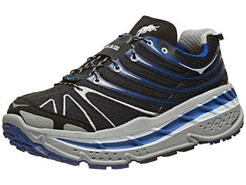 HOKA Stinson Trail Men's Shoes Black/Grey/Blue