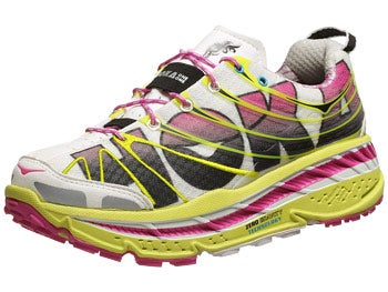 HOKA Stinson Trail Women's Shoes Citrus/White/Fushia