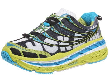 HOKA Stinson Tarmac Men's Shoes Lime/Black/White
