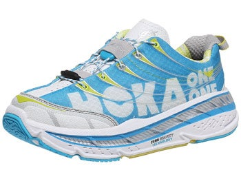 HOKA Stinson Tarmac Women's Shoes Cyan/Wh/Citrus