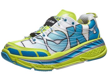 HOKA Stinson Tarmac Women's Shoes Wh/Cyan/Citrus