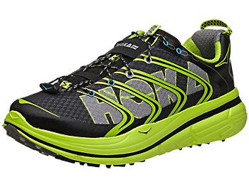 HOKA Rapa Nui 2 Trail Men's Shoes Black/Yellow/Grey