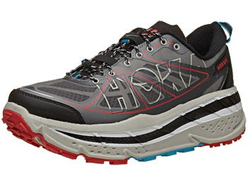 HOKA Stinson ATR Men's Shoes Anth/Grey/Red
