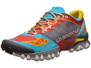 La Sportiva Bushido Women's Shoes Coral/Malibu Blue