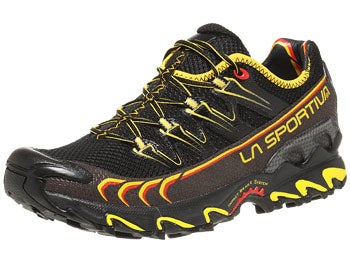 La Sportiva Ultra Raptor Men's Shoes Black/Yellow