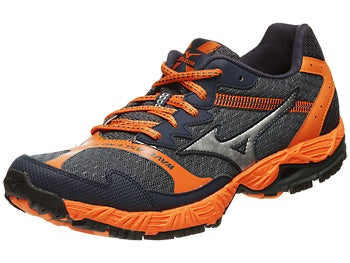 Mizuno Wave Ascend 8 Men's Shoes Slate/Silver/Orange