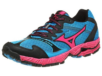 Mizuno Wave Ascend 8 Women's Shoes Blue/Beet/Anth