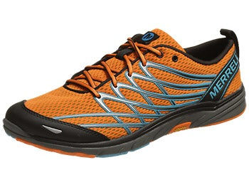 Merrell Bare Access 3 Men's Shoes Orange Peel/Blue