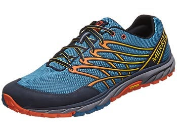 Merrell Bare Access Trail Men's Shoes Blue/Flame