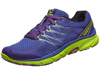 Merrell Bare Access Ultra Women's Shoes Blue/Lime