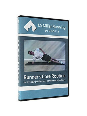 McMillan Runner's Core Routine: Stage 1 DVD