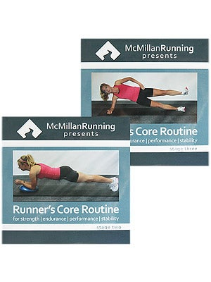 McMillan Runner's Core Routine: Stage 2 & 3 DVD