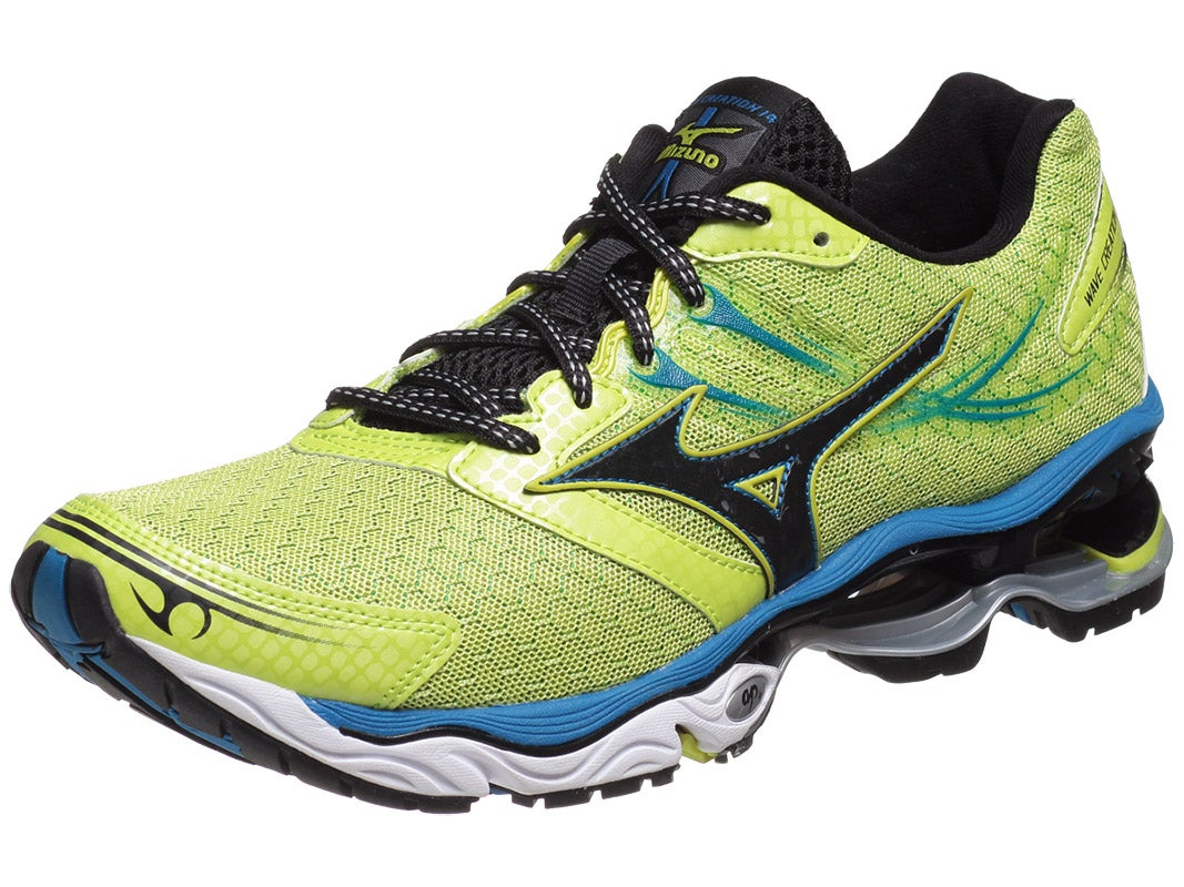 Mizuno Wave Creation 14 Men's Shoes Lime/Blue/Anth