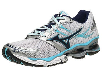 Mizuno Wave Creation 14 Women's Shoes White/Blue Dep