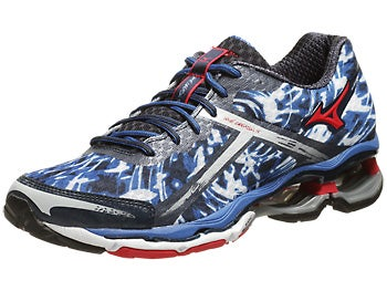 Mizuno Wave Creation 15 Men's Shoes Blue/Red
