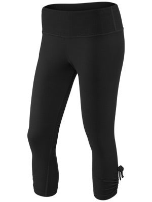 Moving Comfort Women's Urban Gym Capri Black